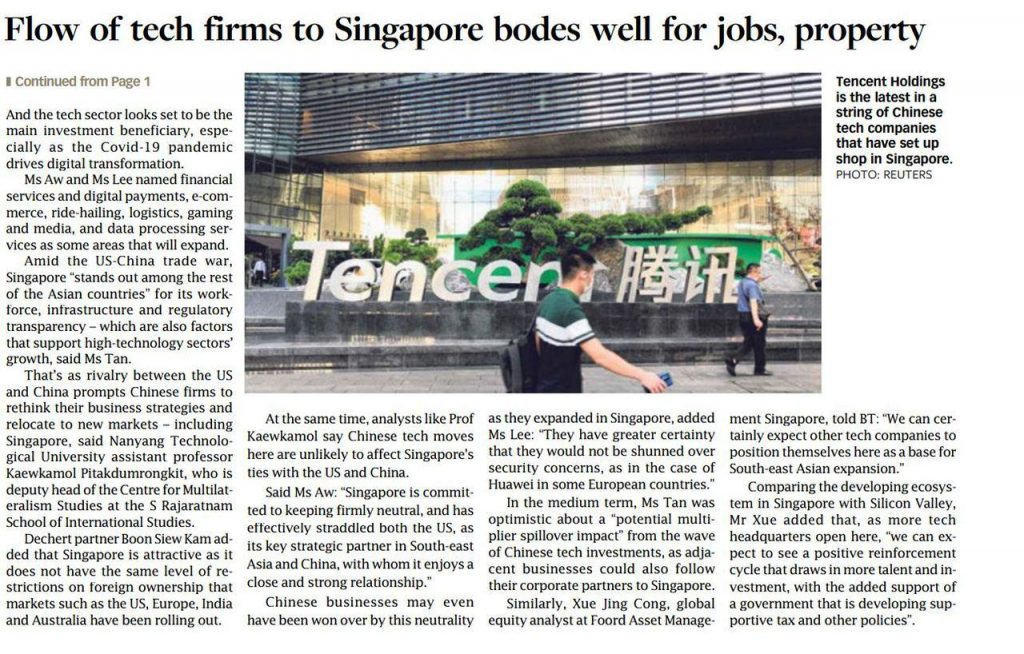 parc-clematis-latest-property-news-flow-of-tech-firms-to-singapore-bodes-well-for-jobs-property